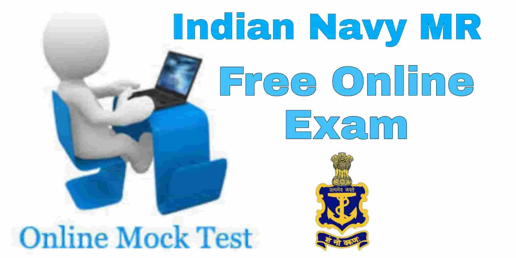 Indian Navy MR Free Online Mock Test -2