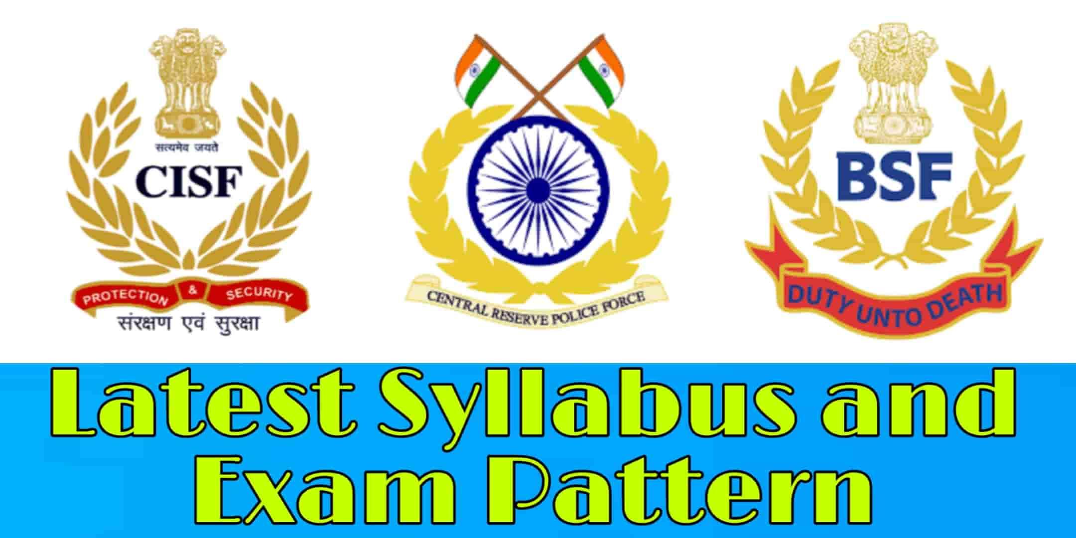 UPSC CAPF Syllabus and Exam Pattern 2020