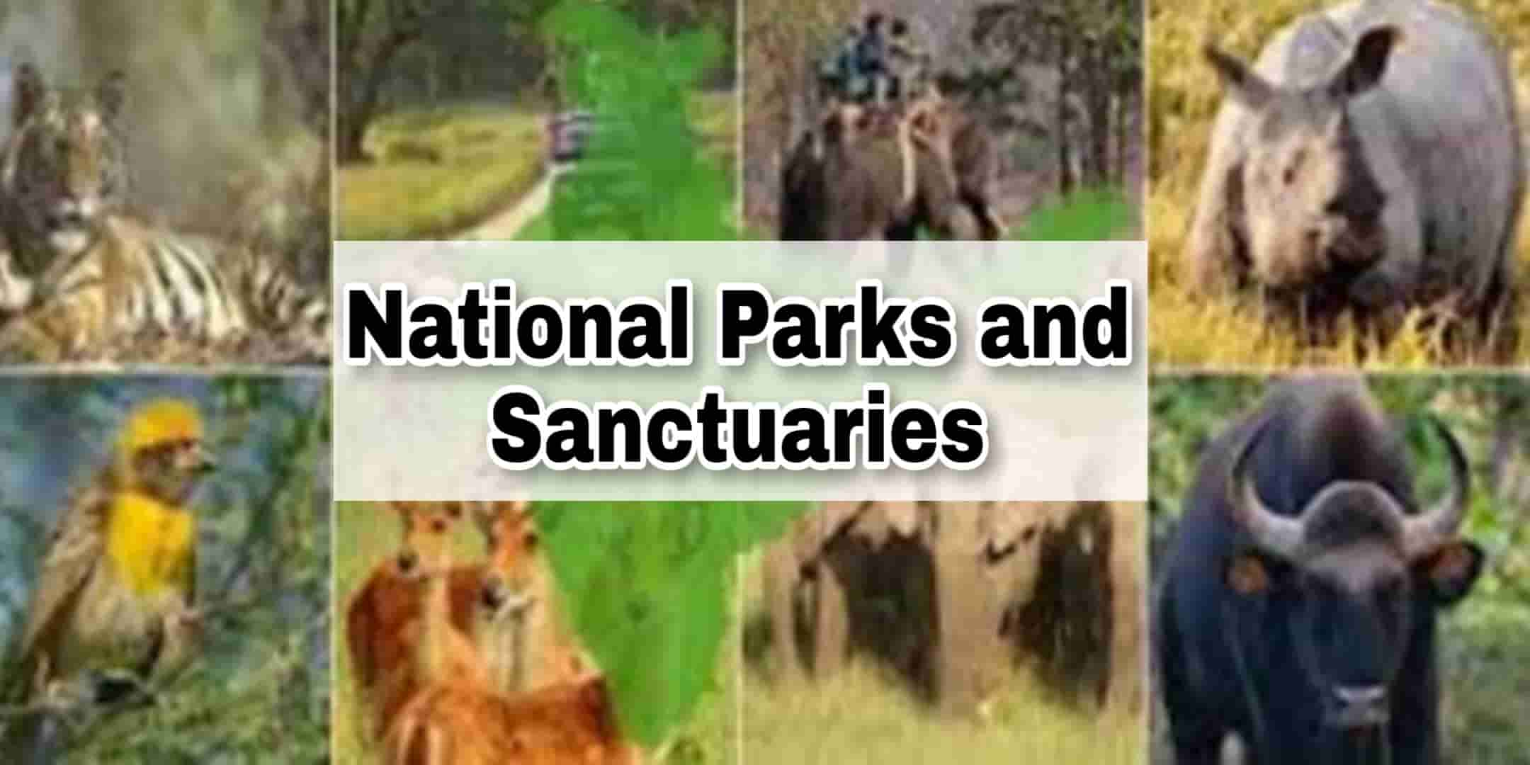 Important National Parks and Wildlife Sanctuaries