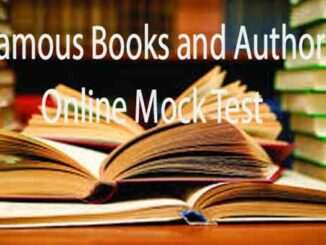 Books and Authors GK Questions and Answers