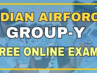 Airforce Group-Y Free Online Exam Test-3