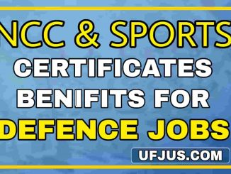 Benefits of NCC and Sports Certificates For Defence Jobs