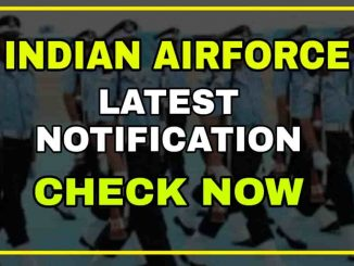 Indian Airforce Group-XY Notification 2021