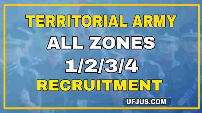 TA Recruitment Rallys All Zones 1 2 3 4 Full Details