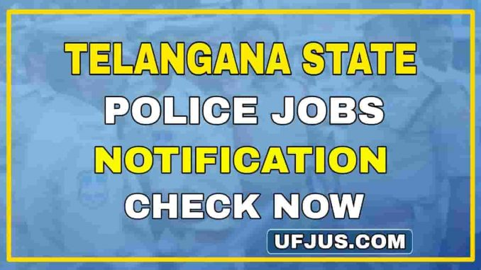 Telangana 20000 Police Recruitment Full Details