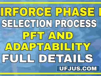 Indian Airforce Group-XY Phase II Selection Procedure