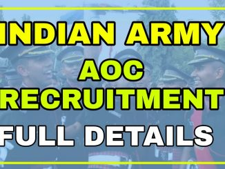 Army to start recruitment rally on 29 November at AOC Center